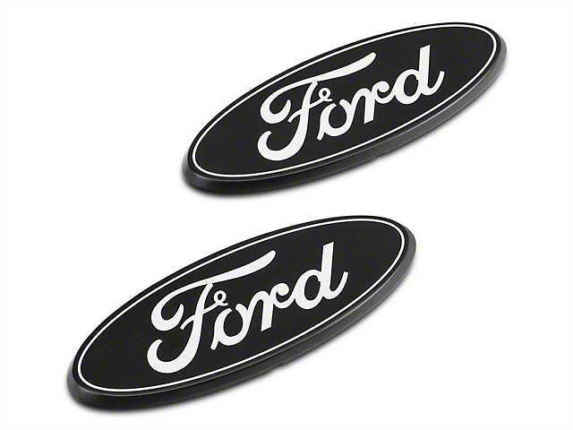 Putco Grille & Tailgate Emblems - Black (09-14 All)