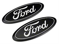 Defenderworx F 150 Ford Oval Tailgate Emblem Gloss