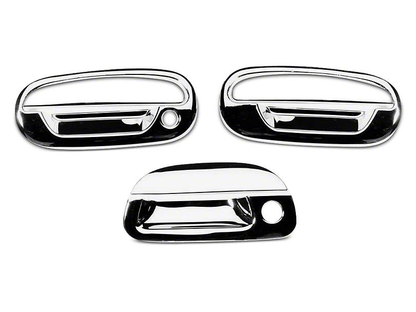 Putco Chrome Door & Tailgate Handle Covers (97-03 Regular Cab, SuperCab)