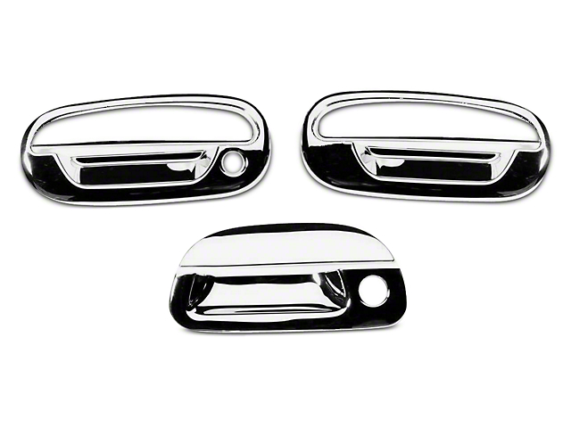 Putco Chrome Door u0026 Tailgate Handle Covers (97-03 F-150 Regular Cab SuperCab)  sc 1 st  AmericanTrucks & Putco F-150 Chrome Door u0026 Tailgate Handle Covers T532093 (97-03 F ...