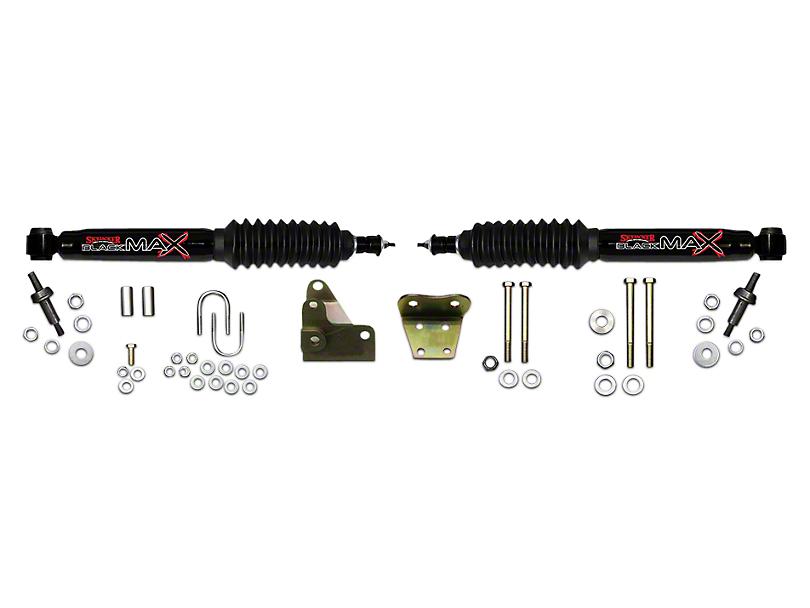 SkyJacker Black MAX Dual Stabilizer Kit for Skyjacker 6 in. Lift Kit (97-03 4WD F-150)