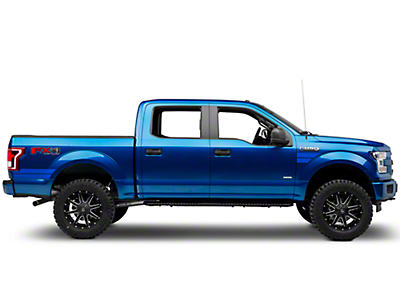 American Muscle Graphics Blue Side Hash Marks (15-17 All)