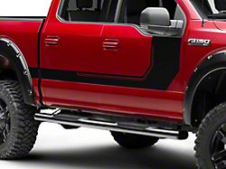 SEC10 Side Graphics; Matte Black (15-20 F-150)