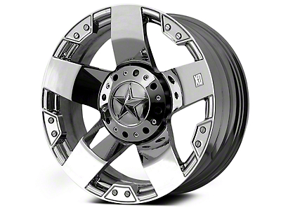 Rockstar XD775 Chrome 6-Lug Wheel - 22x9.5 (04-18 All)