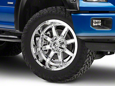 Fuel Wheels Maverick Chrome 6-Lug Wheel - 22x10 (04-18 F-150)