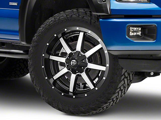 Fuel Wheels Maverick Black Machined 6-Lug Wheel - 22x9.5 (04-18 F-150)
