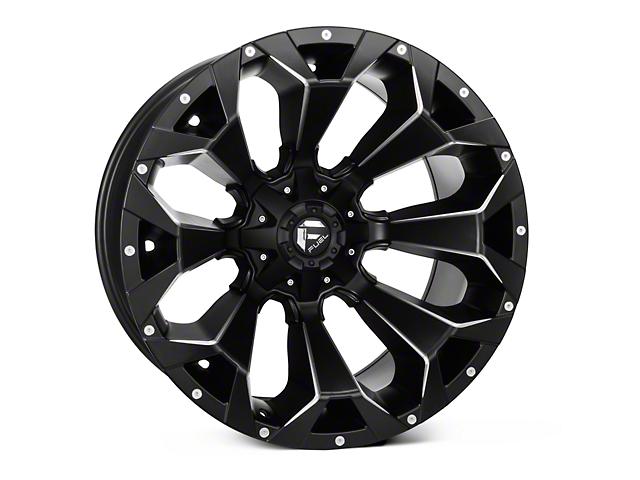 Fuel Wheels Assault Satin Black Milled 6-Lug Wheel; 18x9; -12mm Offset (09-14 F-150)