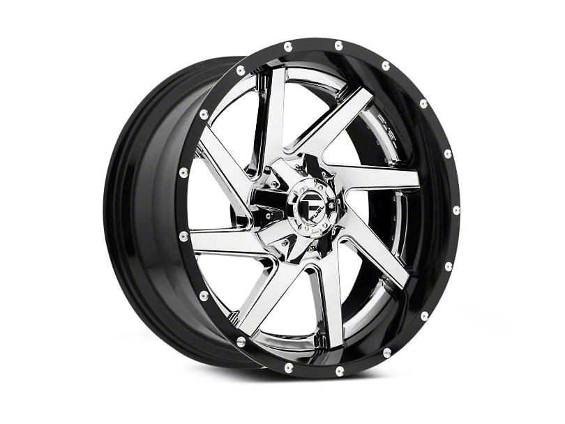Fuel Wheels Renegade Chrome w/ Gloss Black Lip 6-Lug Wheel - 22x10 (04-18 All)