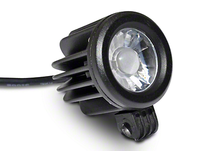 DV8 Off-Road 2 in. Round LED Light - Spot Beam (97-17 All)