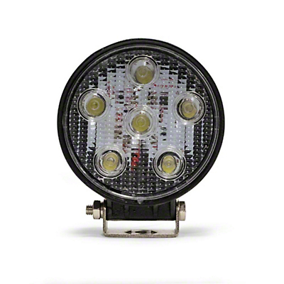 DV8 Off-Road 5 in. Round LED Light - Spot Beam (97-17 All)