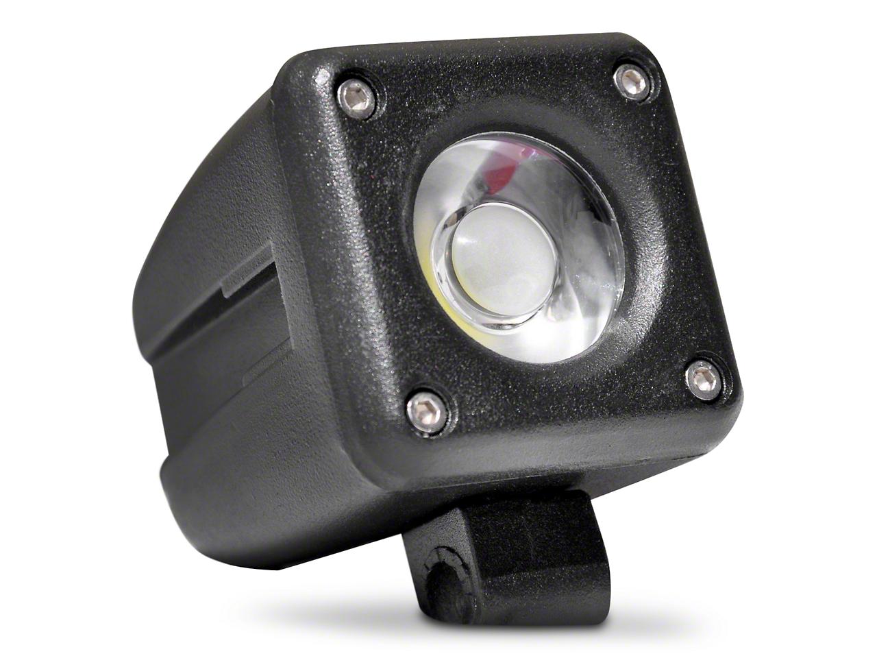 DV8 Off-Road 2 in. Square LED Light - Spot Beam (97-18 All)