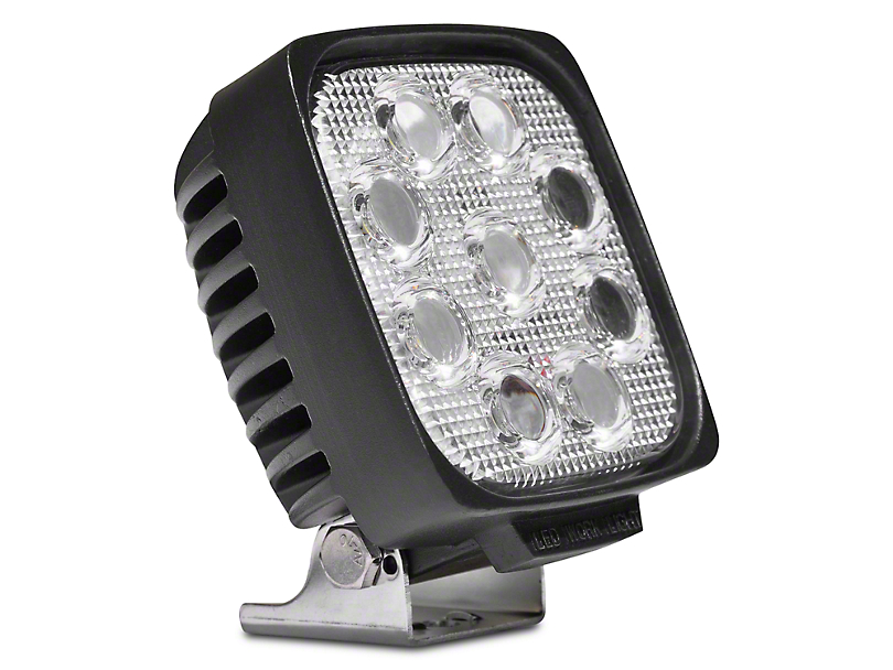 DV8 Off-Road 5 in. Square LED Light - Spot Beam (97-18 All)