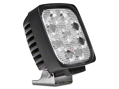DV8 Off-Road 5 in. Square LED Light - Spot Beam (97-17 All)