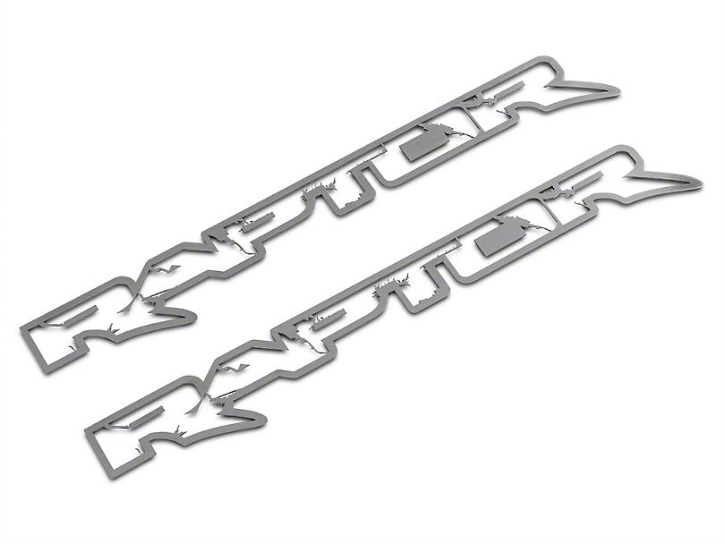 ACC Brushed Frame Style Raptor Emblems (10-14 Raptor)