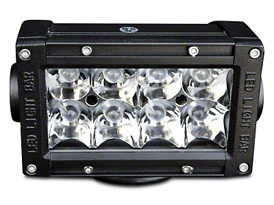 DV8 Off-Road 12 in. Chrome Series LED Light Bar - Flood/Spot Combo (97-18 All)