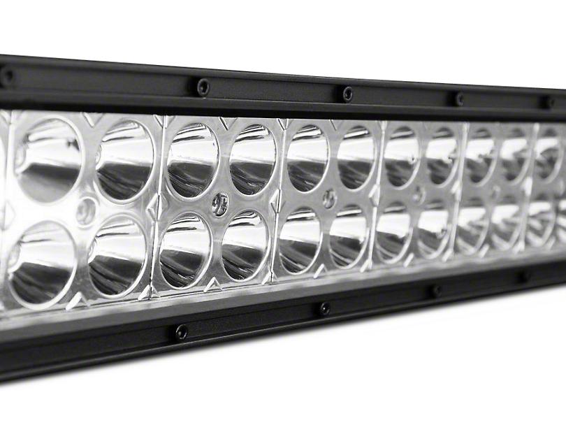 DV8 Off-Road 50 in. Chrome Series Dual White/Amber LED Light Bar - Flood/Spot Combo (97-18 F-150)