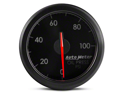 Auto Meter AirDrive Oil Pressure Gauge - Electrical (97-17 All)