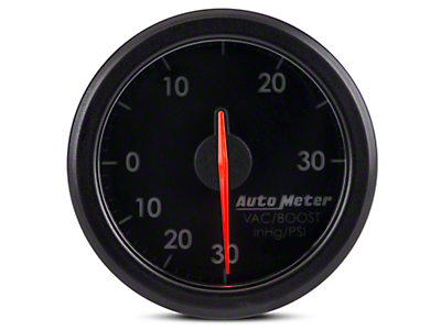 Auto Meter AirDrive Boost/Vac Gauge - Electrical (97-17 All)