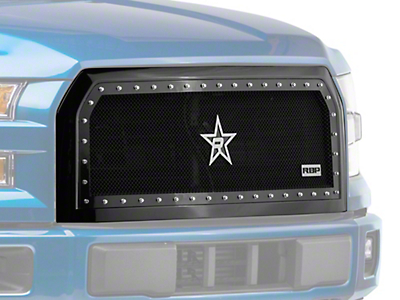 RBP NDX Series Upper Replacement Grille - Black (15-17 F-150, Excluding Raptor)