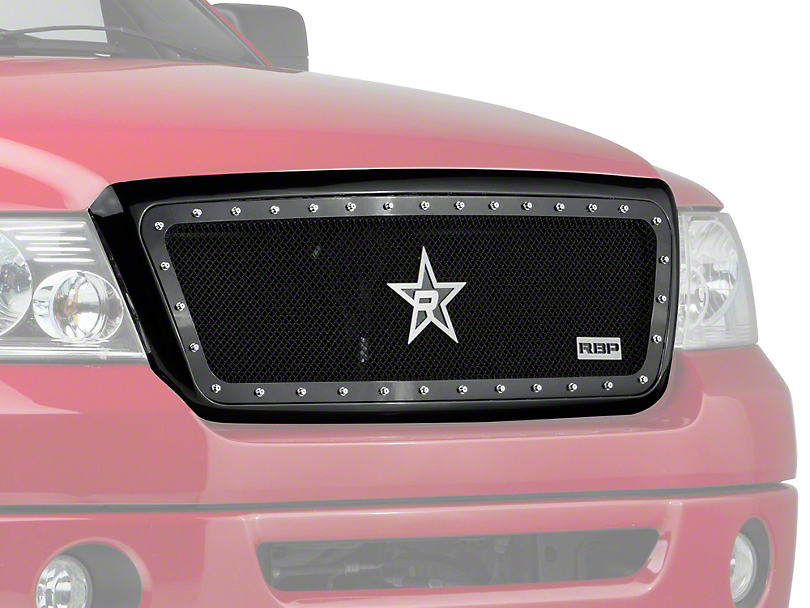 RBP NDX Series Upper Replacement Grille - Black (04-08 All)