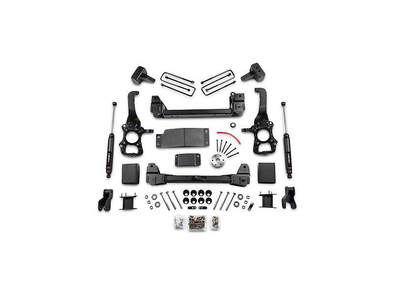 RBP 4 in. Suspension Lift Kit w/ Shocks (15-17 4WD, Excluding Raptor)
