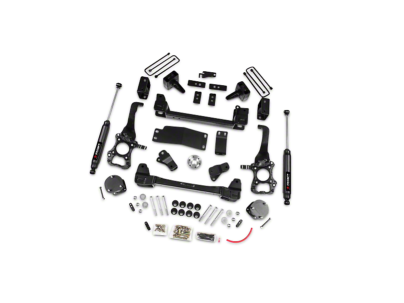RBP 6 in. Suspension Lift Kit w/ Shocks (15-17 4WD, Excluding Raptor)