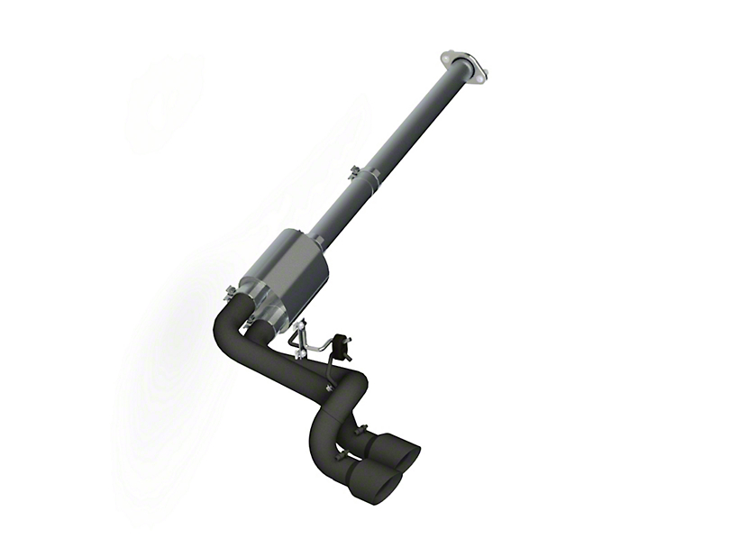 MBRP Black Series 3 in. Dual Exhaust System - Middle Side Exit (09-10 4.6L)