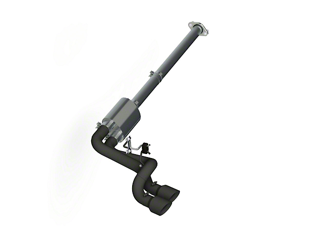 MBRP Black Series 3 in. Dual Exhaust System - Middle Side Exit (11-14 3.5L EcoBoost F-150)