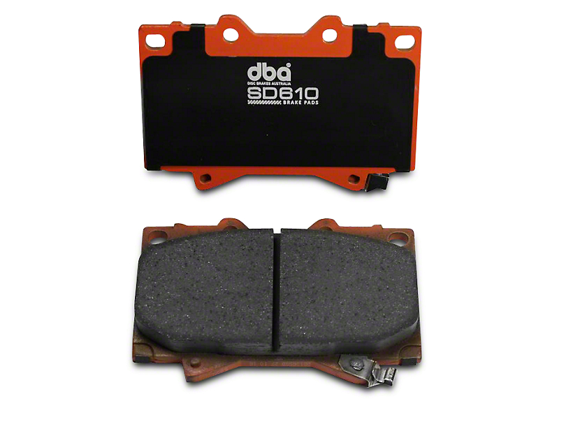 DBA SD610 Performance Brake Pads - Front Pair (04-14 All)