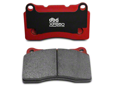 DBA XP650 Heavy Load Performance Brake Pads - Rear Pair (04-12 F-150, Excluding 2012 Raptor)