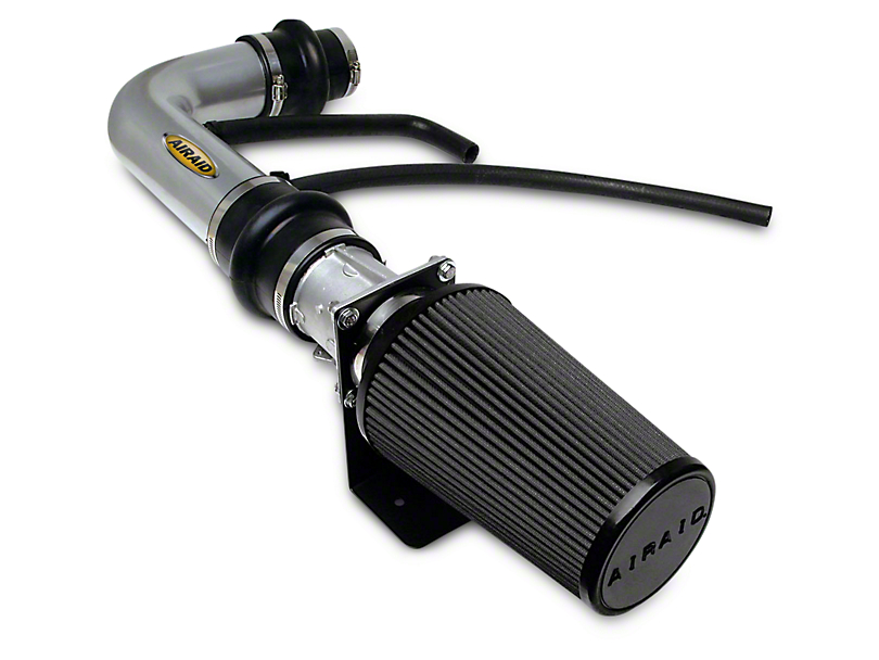 Airaid Silver Classic Performance Cold Air Intake w/ Black SynthaMax Dry Filter (97-03 4.6L F-150)