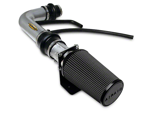 Airaid Silver Classic Performance Cold Air Intake w/ Black SynthaMax Dry Filter (97-03 4.6L)
