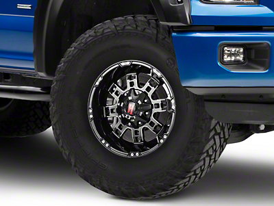 Havok Off-Road H103 Black Milled 6-Lug Wheel - 17x9 (04-18 All)