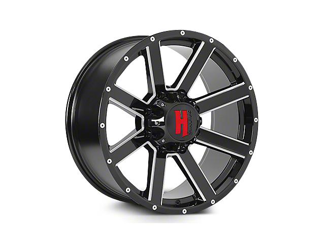 Havok Off-Road H107 Black Milled 6-Lug Wheel - 22x11 (04-17 All)