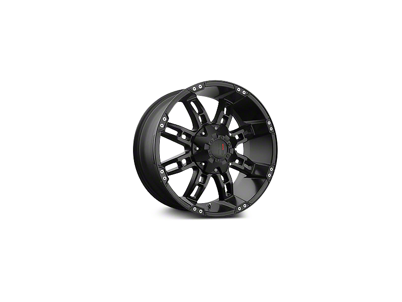 Havok Off-Road H103 Matte Black 6-Lug Wheel - 17x9; -12mm Offset (04-19 F-150)