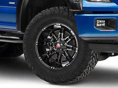 Havok Off-Road H103 Matte Black 6-Lug Wheel - 20x10 (04-19 F-150)