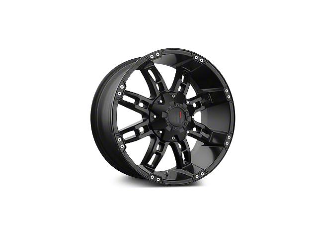 Havok Off-Road H103 Matte Black 6-Lug Wheel - 22x11 (04-18 F-150)