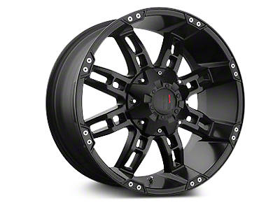 Havok Off-Road H103 Matte Black 6-Lug Wheel - 22x11 (04-18 All)