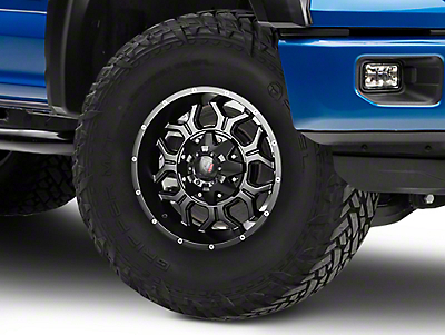 Havok Off-Road H106 Matte Black 6-Lug Wheel - 17x9 (04-18 All)