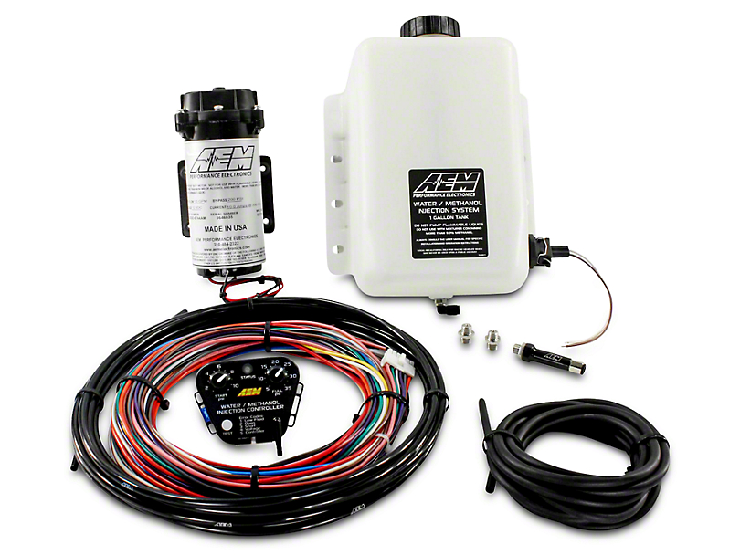AEM Electronics V2 Water/Methanol Injection Kit for Forced Induction Engines - Standard Controller (97-17 All)