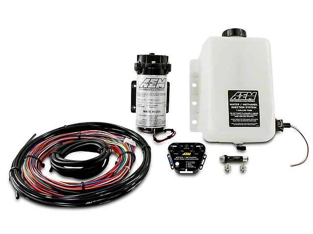 AEM Electronics V2 Water/Methanol Injection Kit for Force Induction Engines - Multi-Input Controller (97-17 All)