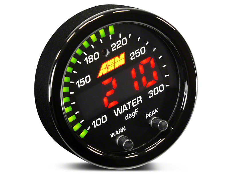 AEM Electronics X-Series Temperature Gauge - Electrical (97-18 All)