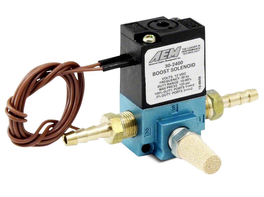 AEM Electronics Boost Control Solenoid Kit (97-18 All)