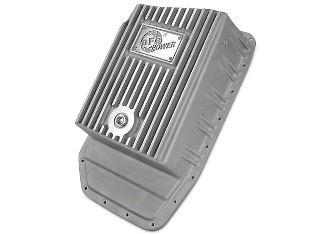 AFE Transmission Pan - Raw (09-18 F-150 w/ 6R80 Transmission)