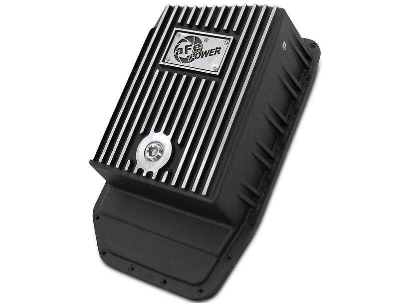 AFE Transmission Pan - Black (09-17 w/ 6R80 Transmission)