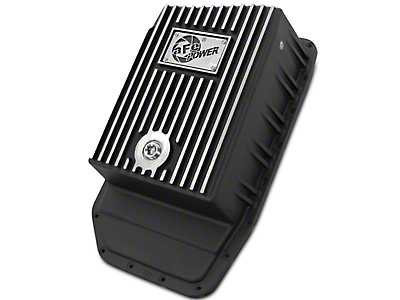 AFE Transmission Pan - Black (09-18 F-150 w/ 6R80 Transmission)