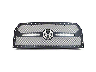 ICI Magnum CL-Series Upper Replacement Grille w/ 12 in. LED Light Bars - Black (10-14 Raptor)