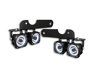 Vision X Optimus LED Fog Light Mounting Brackets (2017 Raptor)