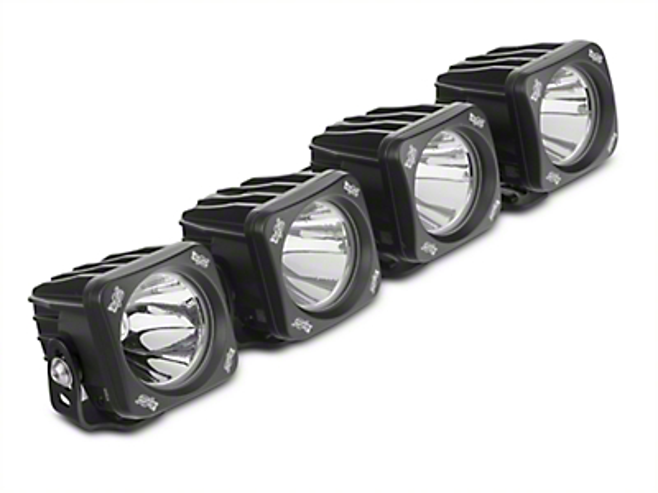 Vision X 3 in. Optimus LED Cube Fog Lights w/ Mounting Brackets (17-18 Raptor)