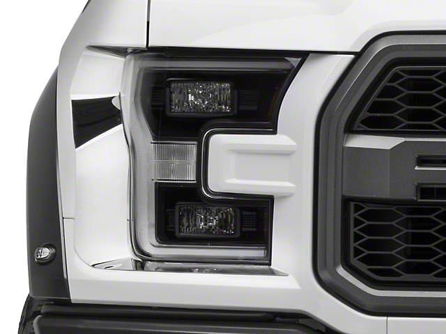 ACC Polished Headlight Trim (17-18 Raptor)
